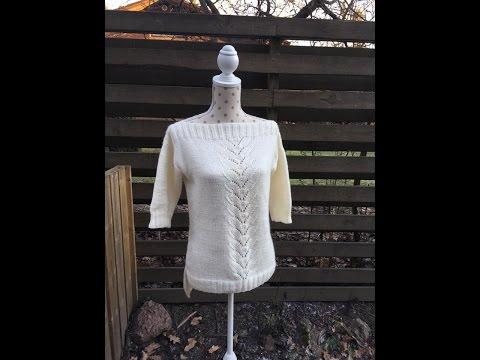 Вязаные свитера спицами Подборка из 13 моделей модных