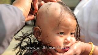 Shaving a girl's head as a ritual: Lu kokpa, mundan ceremony of Manipuri child