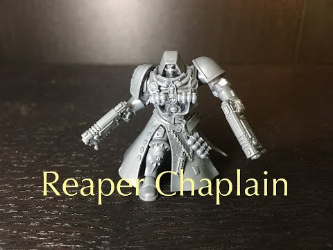 Building Reaper From Overwatch As A Primaris Space Marine