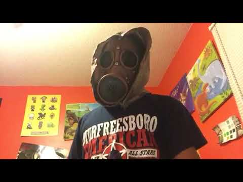 Idiot With A Gas Mask Does Parkour Youtube