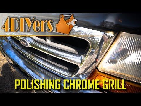 DIY: How to Polish a Chrome Grill