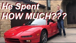 Was It A Mistake Buying The Cheapest Acura Nsx In The Usa???