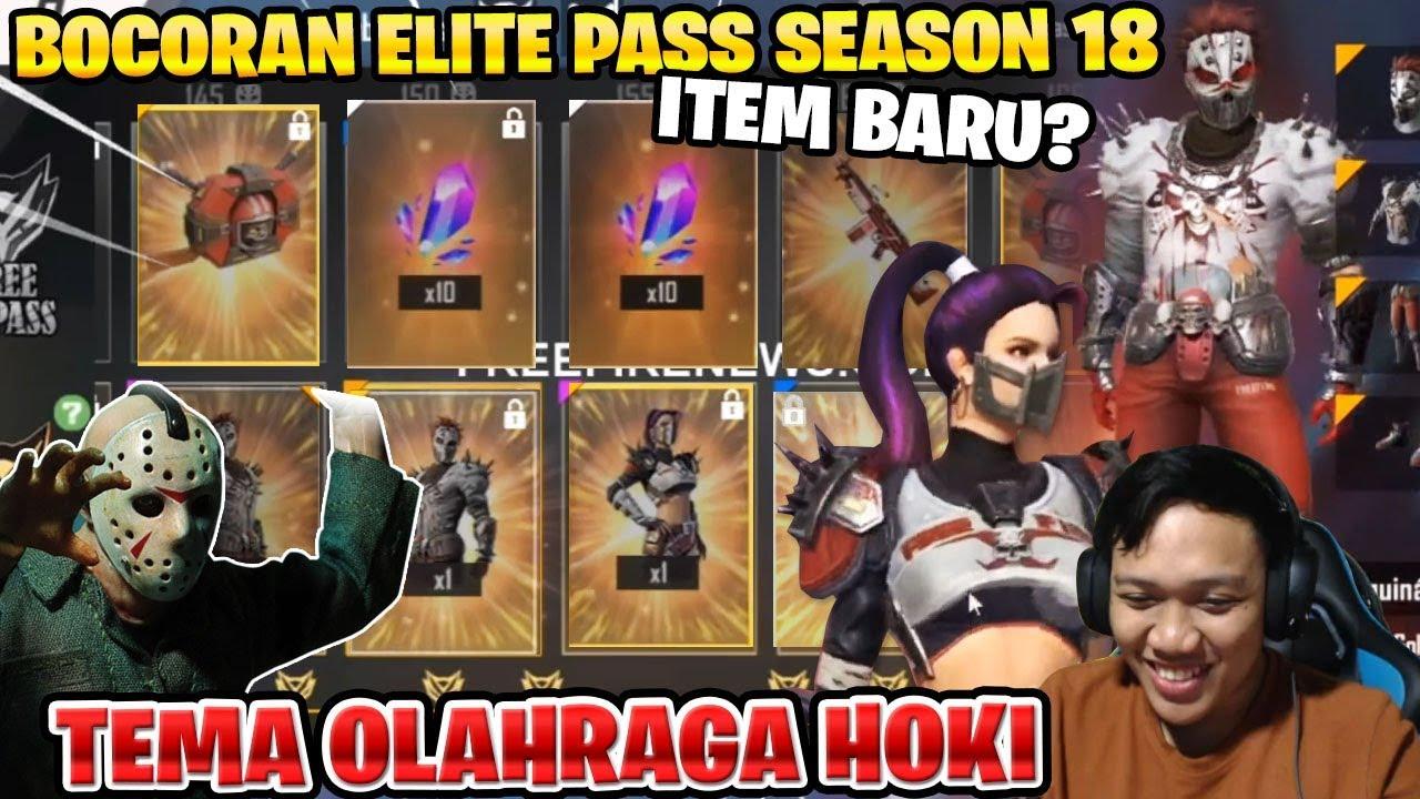 Tema Sport Halloween Bocoran Lengkap Elite Pass Season 18 November Garena Free Fire
