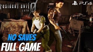 Resident Evil Zero HD Remaster - Full Game Walkthrough - No Saves (Save Your Prayers)