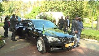 Video Rais Magufuli na Mkewe walivyoingia nyumbani kwa Baba wa Taifa
