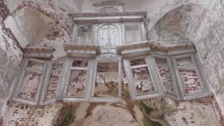 исчезнувшая деревня и поиск в ней золота/древний погост с церковью
