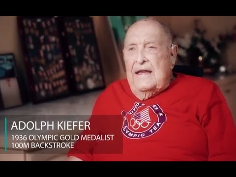 Olympic champion American swimmer Adolph Kiefer (98) died