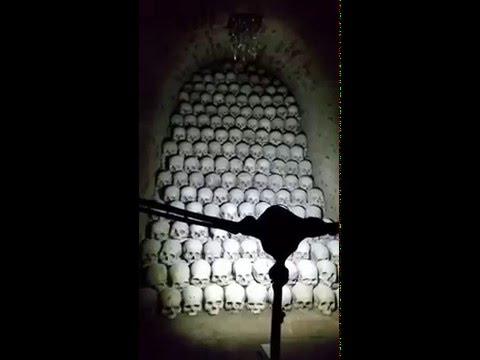The Ossuary at St James Church Brno