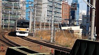 2020/03/18 中央線 209系 トタ81編成 飯田橋駅 | JR East Chuo Line: 209 Series ToTa 81 Set at Iidabashi