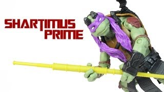 Ninja Turtles Donatello 2014 Movie Toy Basic Action Figure Review