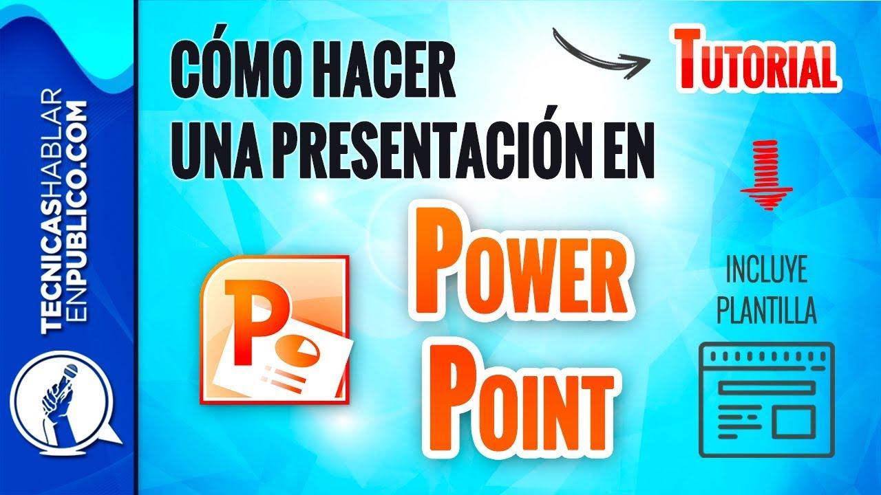 TUTORIAL: Cómo Hacer una Presentación en Power Point Profesional ...