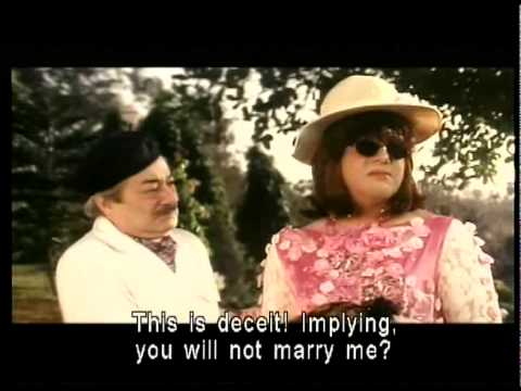 Colonel Dhongre Saeed Jaffrey is flirting with her Highness Govinda in woman's avatar