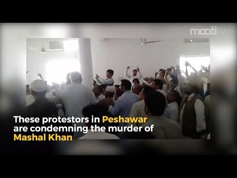 The Pakistani people are outraged about the brutal murder of Mashal Khan