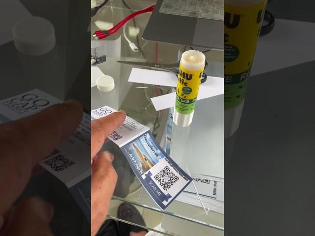 Tuto 05 Comment Fabriquer des Cartes de Visites  chez soi par Go Cap Ferret