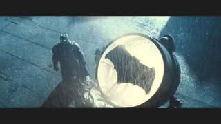 Batman v Superman with justice league unlimited song theme