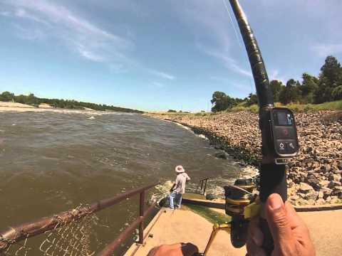 Denison Dam Striper Fishing