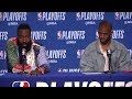 James Harden & Chris Paul Postgame Interview - Game 1 | Rockets vs Warriors | 2019 NBA Playoffs