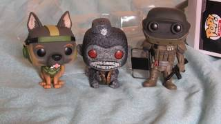 Pop! vinyl unboxing - Toasted Monkey Bomb (RARE), Juggernaut, and Riley