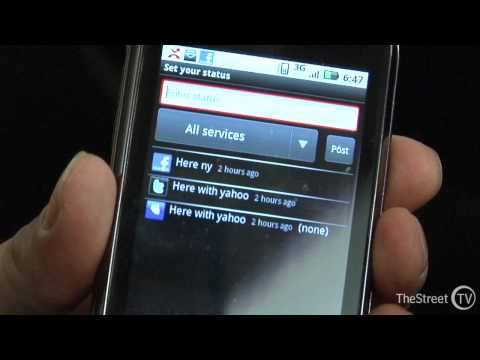 Motorola Cliq Android