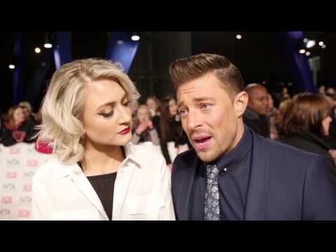 2017 NTAs: Hollyoaks - Duncan James and Ashley Slanina-Davies