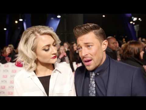 2017 NTAs: Hollyoaks - Duncan James and Ashley Slanina-Davies