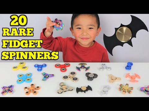 Thumbnail: FIDGET SPINNER SURPRISE!! 20 Rare Cool Crazy Spinners Tested By Ckn Toys