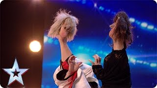 Download Video Preview: Anne Klinge sweeps the Judges off their feet MP3 3GP MP4