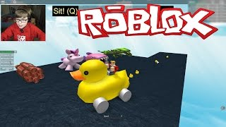 DUCKLINGS!! Get Eaten #4 | ROBLOX | Kid Gaming