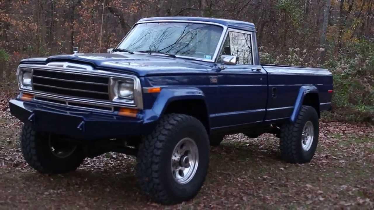Cummins Diesel Jeep Truck J20 Mount Zion Offroad Youtube