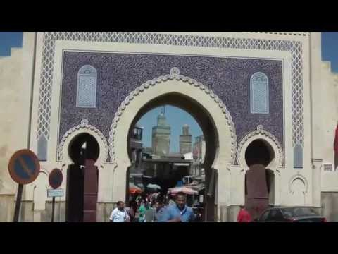 Fes Bab Bou Jeloud Morocco