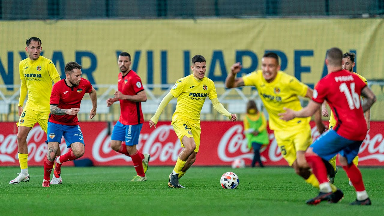 Resumen Villarreal C 3 - 0 Atlético Saguntino