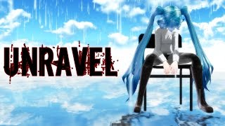 【MMD】Unravel Feat.Hatsune Miku - Dubstep Dj-Jo Remix【Remake】