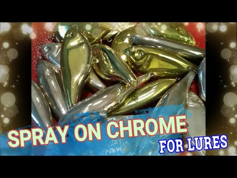 Spray Chrome For Lures, Silver Plating Lures