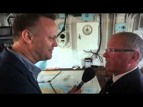 Why are all the clocks on the Royal Yacht Britannia set to 3.01pm?