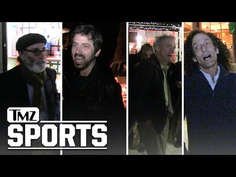 Clint Eastwood- Huge Stars Took Me to Dinner...Guess Who Paid?! | TMZ Sports