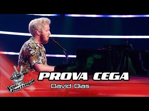 "David Dias - ""Scared to be Lonely""  Prova Cega  The Voice Portugal"