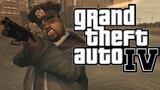 GTA 4 - POLICE MOD ! (Grand Theft Auto IV Funny Moments) [LCPDFR Mod]