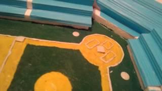 Maqueta de Estadio de Beisbol