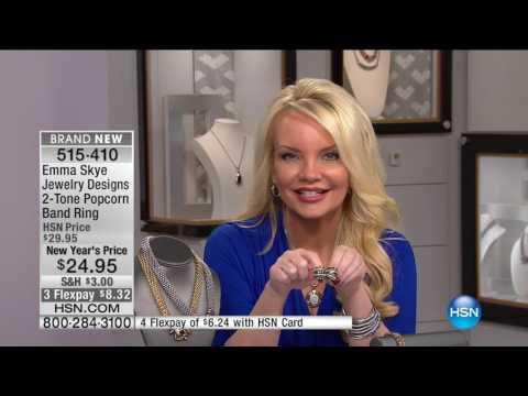 HSN   Emma Skye Jewelry Designs 01.05.2017 - 04 PM