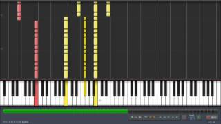 Synthesia - Green Day - !Viva La Gloria! Piano Tutorial + Sheet Music