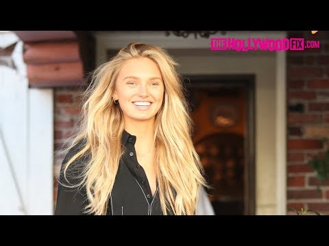 Romee Strijd & Her Boyfriend Laurens Go Shopping At Chanel After Lunch At The Ivy 3.1.18