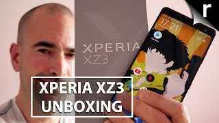 Sony Xperia XZ3 Unboxing | Full setup and tour!