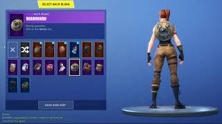 Showing my skins in fortnite