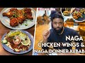 RED HOT NAGA WINGS & SPICY DONNER KEBAB | STROUDLEY GRILL PFC | EAST LONDON'S BOW