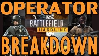 Operator Class Breakdown | Which Class Is Right For You? | Battlefield Hardline