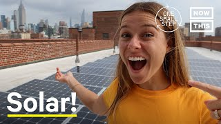 Should Every Rooftop Install Solar Panels? | One Small Step | NowThis