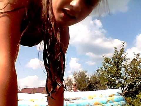 VLOG: купаемся в басейне