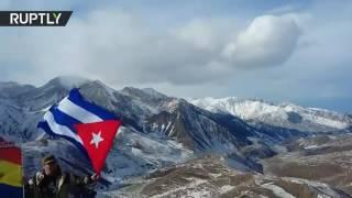 مبادرة إطلاق اسم فيدل كاسترو على جبل في القوقاز