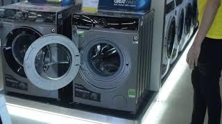 Máy giặt Toshiba lồng ngang TW-BH95M4V giảm giá mùa dịch