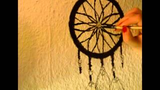 Drawing on my wall - Dreamcatcher